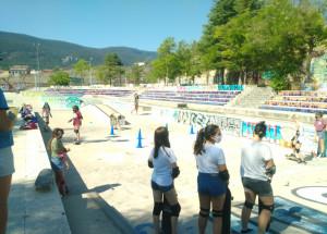 La regidoria d'Igualtat porta a terme un taller d'iniciació al Skateboarding per a dones