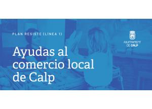 SE ABRE EL PLAZO PARA SOLICITAR LAS AYUDAS AL COMERCIO LOCAL CONVOCADAS POR EL AYUNTAMIENTO DE CALP.