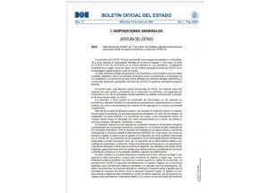 Real Decreto-ley 8/2020, de 17 de marzo, de medidas urgentes extraordinarias para hacer frente al impacto económico y social del COVID-19