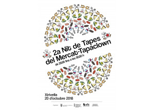 2ª Nit de Tapes del Mercat Municipal-Tapaclown