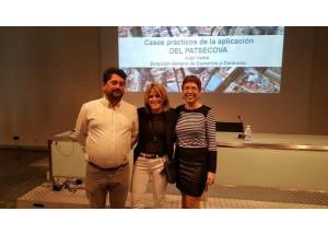 La Regidora Vanessa Moltó participa en una reunió de la Xarxa AFIC