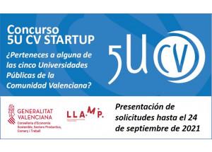 La Afic informa de la VIII Edición del Concurso 5U-CV STARTUP