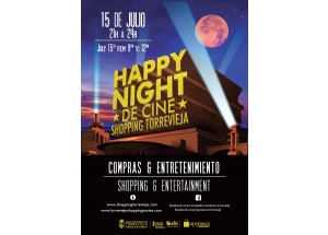 viernes 15 de julio  HAPPY NIGHT DE CINE