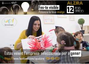 ALZIRA: 12 MESOS 12 EMPRESES-GENER: UP SCHOOL OF ENGLISH