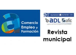 L'Agència de Desenvolupament Local d'Alfafar llança la seua nova revista comercial virtual
