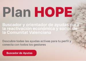 Plan HOPE: el programa de ayudas e incentivos de la Generalitat Valenciana