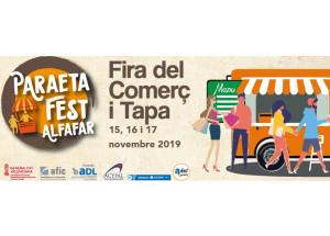 Alfafar prepara el Paraeta Fest, la Fira del Comerç i Tapa 2019