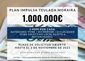 Teulada Moraira Nova línia d'ajudes Pla local Impulsa de Teulada Moraira
