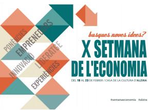 X SEMANA DE LA ECONOMÍA DE ALZIRA