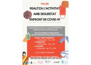 AFIC Creama Gata: taller Realiza tu actividad de manera segura COVID19