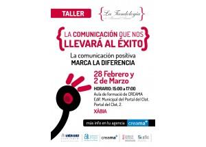 Afic-Creama Xàbia programa un taller de comunicación para comerciantes y empresarios