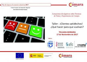 Teulada-Moraira Taller: ¡Clients satisfets! ¿Qué fer perque tornen?