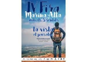 """ÈXIT D'ASSISTÈNCIA A LA """"IV FIRA MARINA ALTA AMB ELS 5 SENTITS: LA VISTA"""" QUE ES VA DEDICAR AL PAISATGE DE LA COMARCA"""
