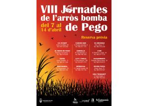 VIII JORNADES DE L'ARRÒS BOMBA DE PEGO