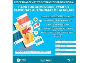 Cursos de formación online para comercios, personas autónomas y microempresas