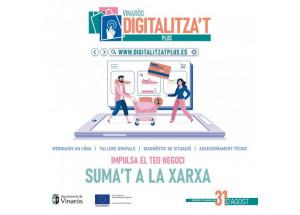 Vinaròs Digitalitza't Plus és el programa d'acompanyament a les empreses en el procés de transformació digital
