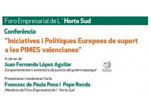 Iniciativas y Políticas Europeas de apoyo a les Pymes Valencianas
