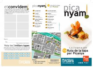PICANYA'M - Ruta de la tapa de Picanya - 12 Edición