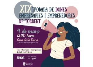 XIX TROBADA DE DONES EMPRESÀRIES I EMPRENEDORES DE TORRENT