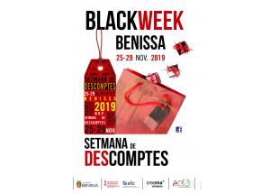 Benissa celebra la BlackWeek del 25 al 29 de noviembre.