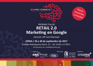 DÉNIA: CURSO RETAIL 2.0 MARKETING EN GOOGLE