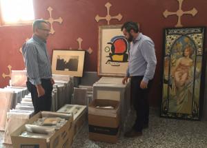 Isabel-Clara Simó contribueix a enriquir el patrimoni cultural d'Alcoi