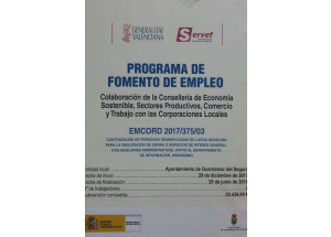 Programa d'Ocupació EMCORD 2017