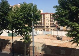 Comencen les obres per construir el Supermercat ALDI a Alcoi