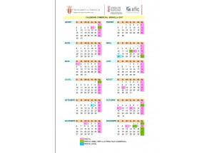 Calendario comercial Xirivella 2017