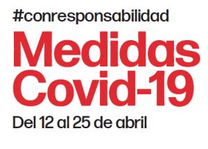 Actualización COVID-19: Medidas 12 al 25 de abril de 2021
