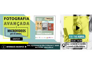 FOTOGRAFIA AVANÇADA I MICROVIDEOS PER AL COMERÇ