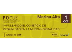 CREAMA POSA EN MARXA EL FOCUS PIME MARINA ALTA 2020 QUE EN AQUESTA EDICIÓ SERÀ EN FORMAT ON-LINE