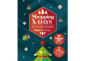 Xàbia Histórica celebra del 3 al 6 de diciembre la Fira d'Art i Nadal al Carrer con un programa centrado en los más pequeños