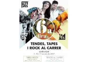 VI FIRA DE TENDES, TAPES I ROCK AL CARRER 2017