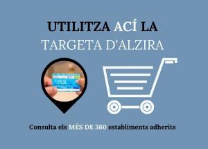 Comerços adherits a Targeta Alzira