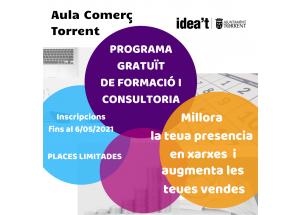 PROGRAMA GRATUÏT DE FORMACIÓ I CONSULTORIA PER A COMERÇOS: