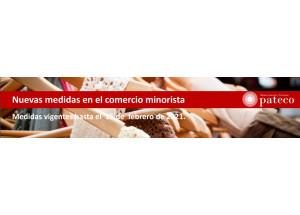COMERCIO MINORISTA MEDIDAS VIGENTES HASTA EL 15 DE FEBRERO