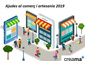 AFIC CREAMA Pedreguer informa de las ayudas a las empresas de comercio y artesanía para el 2019.