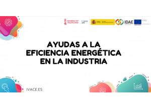 AYUDA A LA EFICIENCIA ENERGÉTICA EN PYME Y GRAN EMPRESA INDUSTRIAL