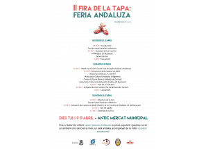 Burjassot vive su II Feria de la Tapa dedicada a Andalucía