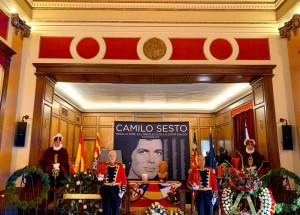 Multitudinario adiós a Camilo Sesto