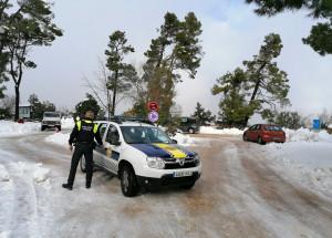 La Policía Local realiza 6 sanciones por saltarse las restricciones y acceder en la Font Roja