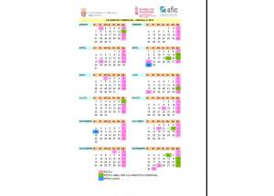 Calendario comercial 2019