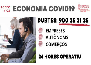 TELÉFONO DE INFORMACIÓN PARA EMPRESAS, COMERCIOS Y AUTÓNOMOS/AS.