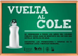 CAMPAÑA COMERCIAL 'VUELTA AL COLE'
