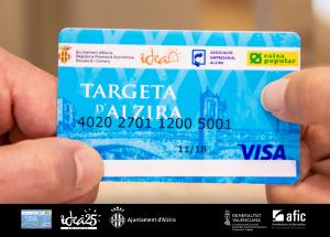 Adhesión comercios Targeta d'Alzira