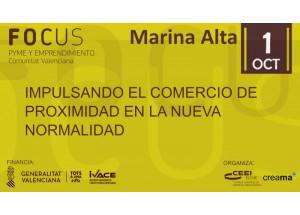 CREAMA PONE EN MARCHA EL FOCUS PYME MARINA ALTA 2020 QUE EN ESTA EDICIÓN SERÁ EN FORMATO ON-LINE.