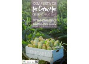 Benicarló ya tiene el cartel anunciador de la XXIV Fiesta de la Alcachofa