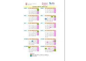 Calendario comercial_Xirivella_2021