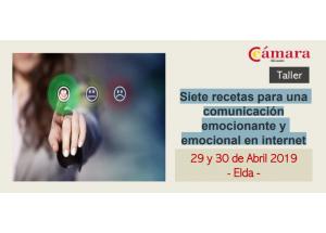 TALLER: SET RECEPTES PER A UNA COMUNICACIÓ EMOCIONANT I EMOCIONAL EN INTERNET